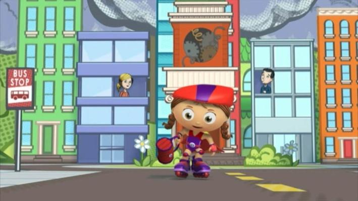 Super Why: Attack of the Eraser | Disappearing Words