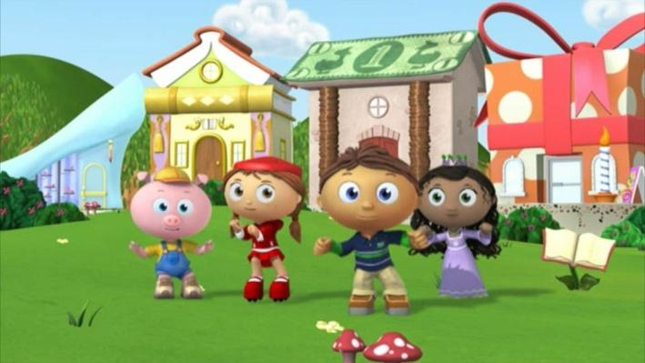 Super Why: Attack of the Eraser | Think of Others
