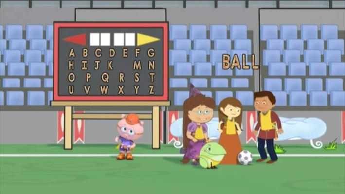 Super Why: The Big Game   Talk to Each Other