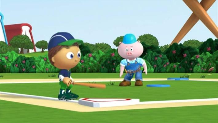 Super Why: The Big Game | Practice