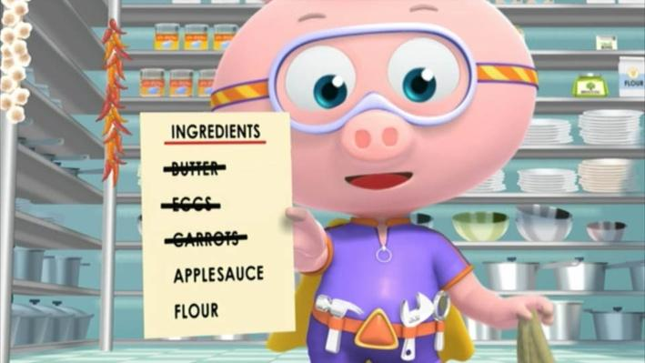 Super Why: The Cookbook | Mix it Up