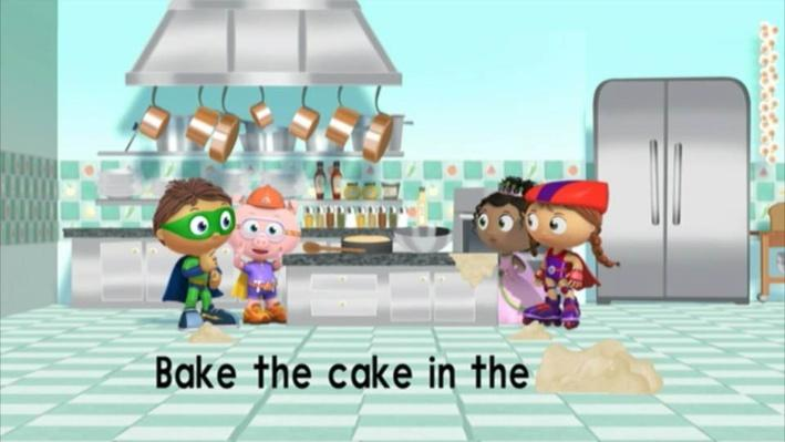 Super Why: The Cookbook | Making a Mess