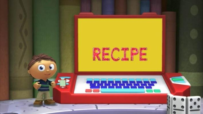 Super Why: The Cookbook | Follow the Recipe