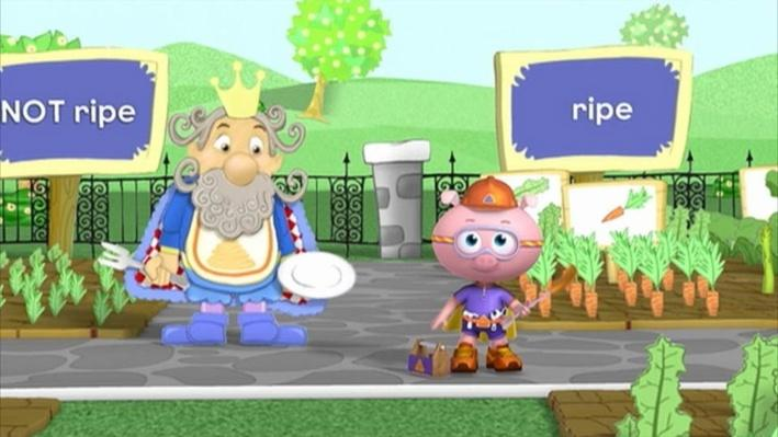 Super Why: King Eddie Who Loved Spaghetti | Vegetables