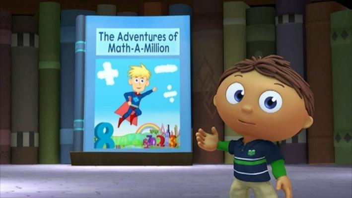Super Why: The Adventures of Math-A-Million | How Many Apples?