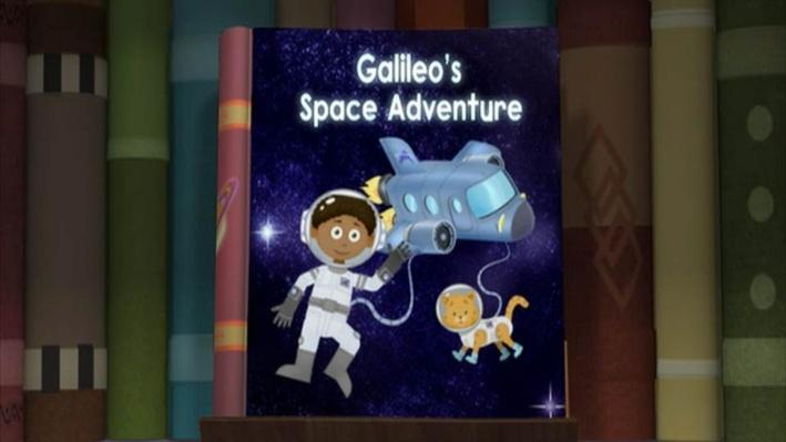 Super Why!: Galileo's Space Adventure | Houston, We Have a Problem
