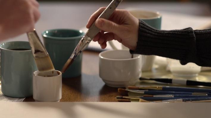 Coffee Art Video
