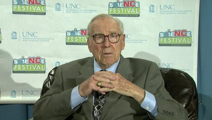 Jim Lovell at Morehead Planetarium asset