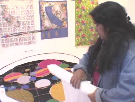 Consuelo Jiménez Underwood: Visual Arts (Fiber Arts)