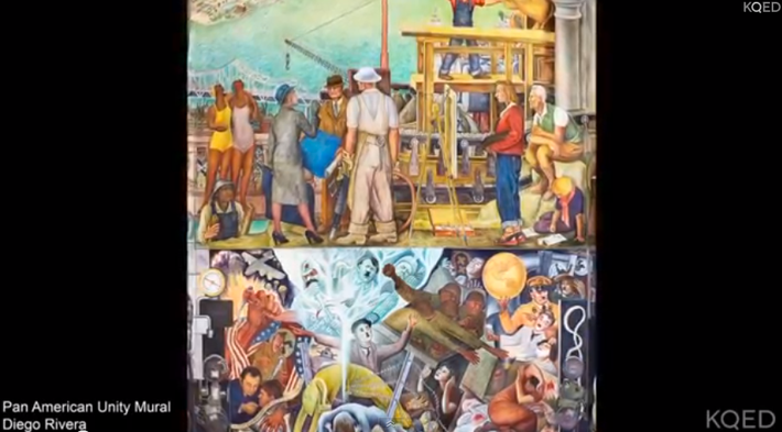 Sirron Norris and Mona Caron on SF Murals
