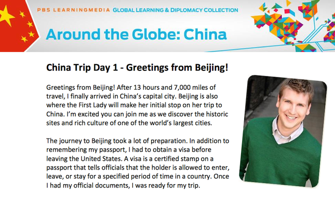 China Trip Day 1 - Greetings from Beijing!