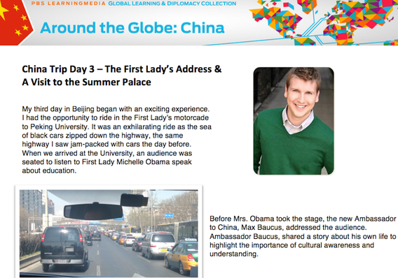 China Trip Day 3 – The First Lady's Address & A Visit to the Summer Palace