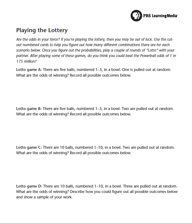 The Lowdown | Your Odds of Winning Powerball: Probabilities