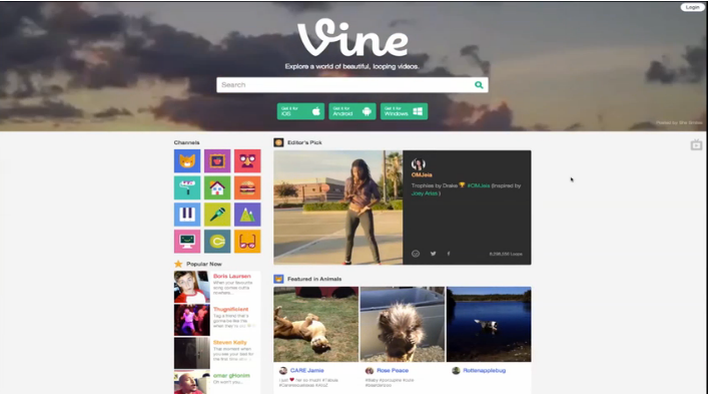 Make Short Social Video Loops With Vine