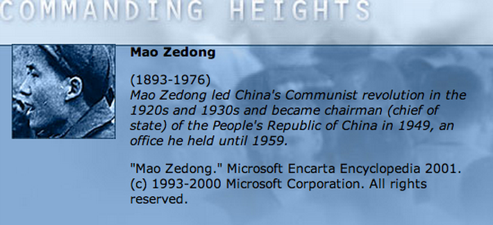 Economic Architect: Mao Zedong