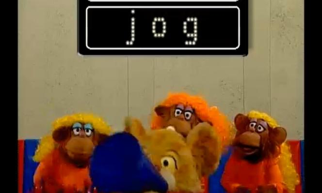 Between the Lions - Monkey Cheer: Jog