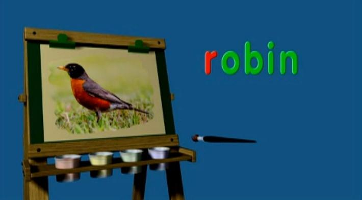 Between the Lions - Word Morph: Rock-Robin-Rowboat