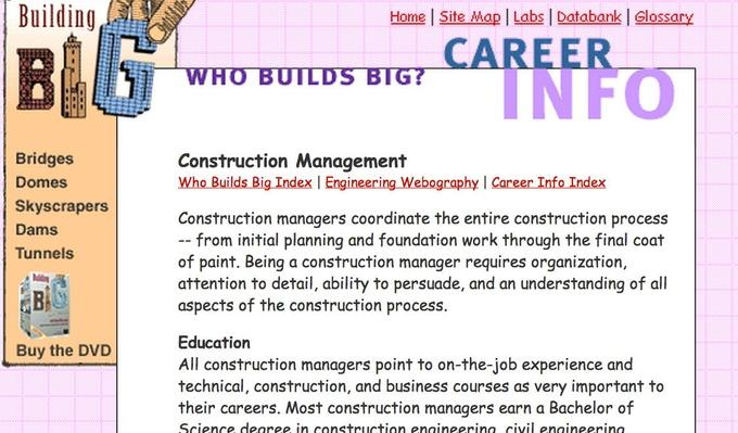 Engineering Careers: Construction Management