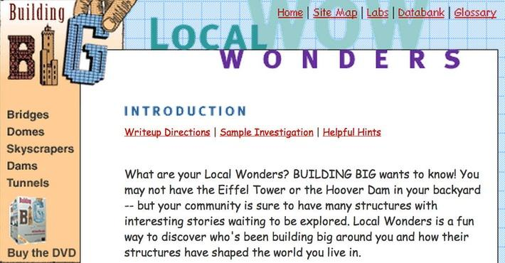 Building Big | Local Wonders Introduction