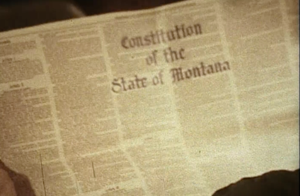 A Constitution | The Montana Constitutional Convention