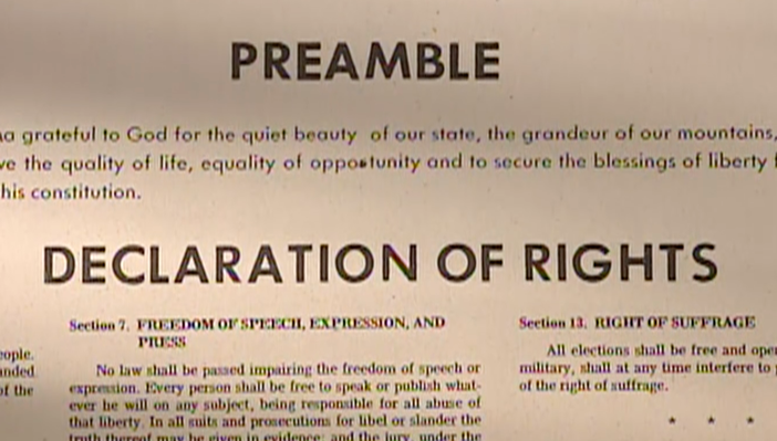Preamble & Language of the Montana Constitution | The Montana Constitutional Convention