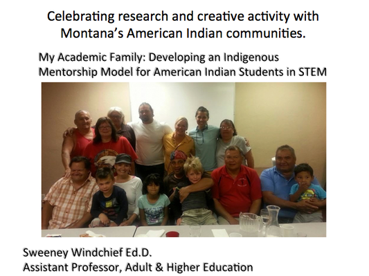 My Academic Family: Developing an Indigenous Mentorship Model for American Indian Students in STEM