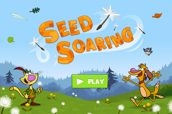 Nature Cat | Seed Soaring