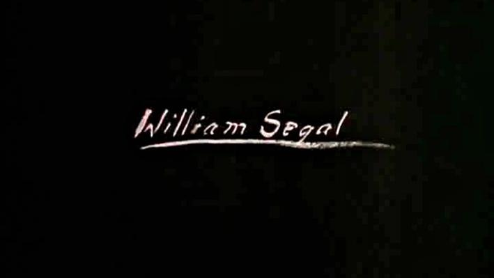 Seeing, Searching, Being: William Segal