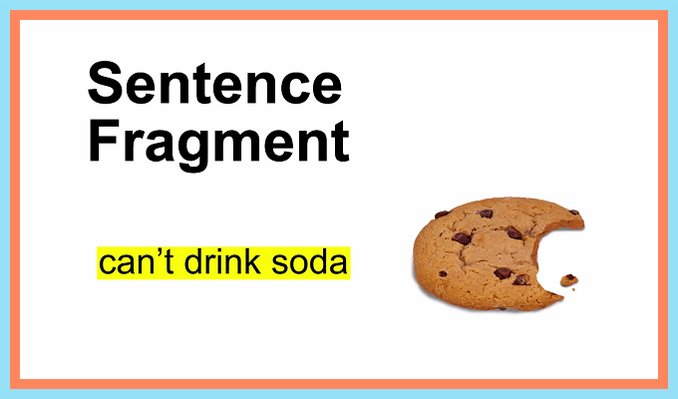 Sentence Fragments | No Nonsense Grammar