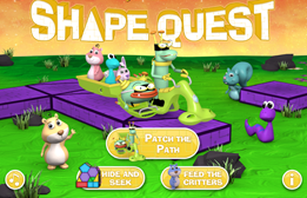 Shape Quest | Cyberchase