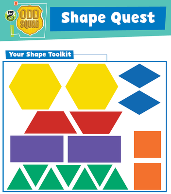 Shape Quest - Odd Squad | Be the Agent Camp