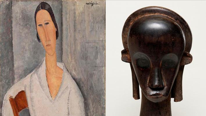 Madame Hanka Zborowski and Reliquary Guardian Head