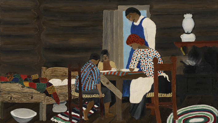 Giving Thanks, Horace Pippin