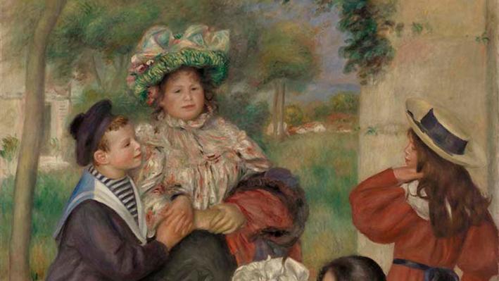 The Artist's Family, Pierre-Auguste Renoir