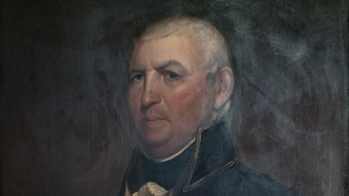Governor Issac Shelby Portrait