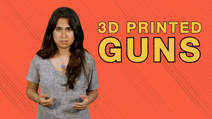 How Could 3D Printed Guns Affect Gun Laws? | Above the Noise