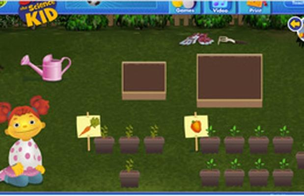 Vegetable Planting | Sid the Science Kid: Games