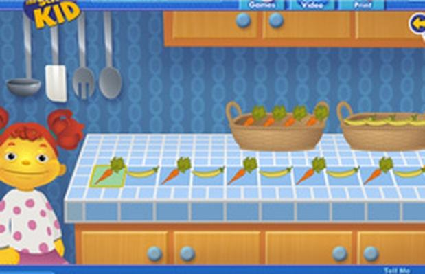 Vegetable Patterns | Sid the Science Kid: Games