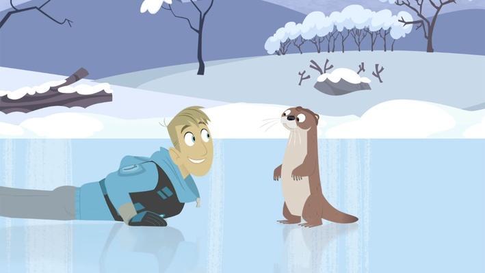 Sledding Otter-Style | Wild Kratts