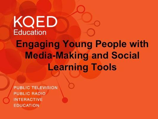 Engaging Young People with Media-Making and Social Learning Tools