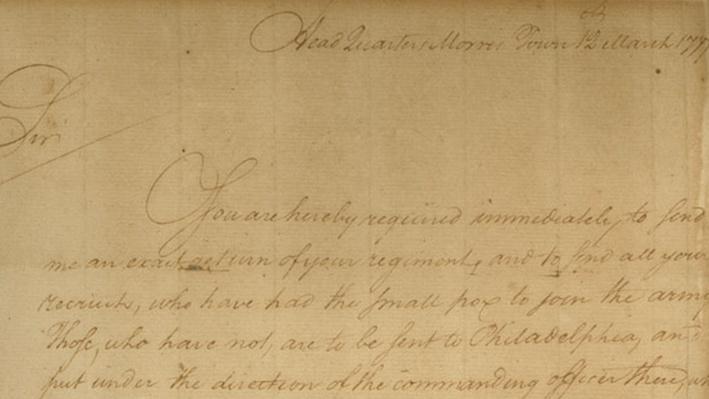 Smallpox Inoculation Letter