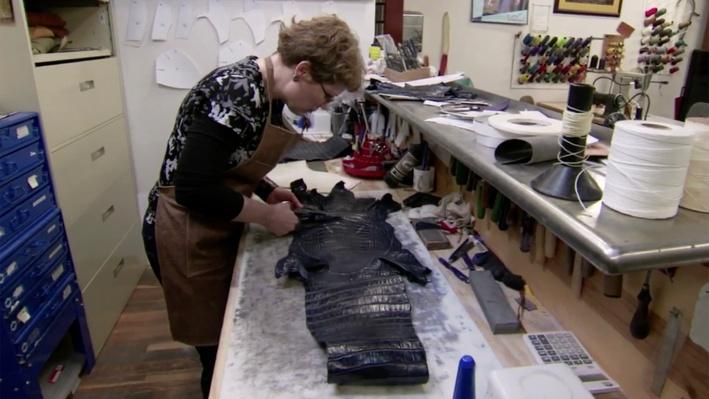Bootmaking: Making Vamps | Craft in America