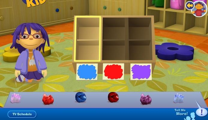 Sorting Box | Sid the Science Kid: Games