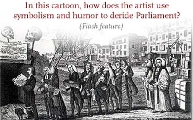 Stamp Act Cartoons