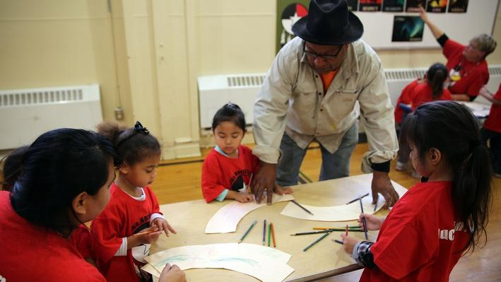 Therman Statom Works with Preschoolers | Craft in America