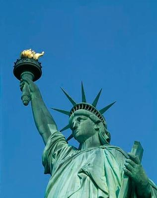 Statue of Liberty Close-Up