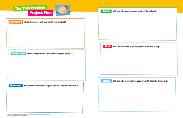 Student Design Handout - PEG + CAT | PBS KIDS ScratchJr - pdf
