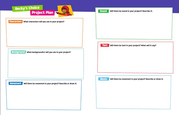 Student Design Handout - WORDGIRL | PBS KIDS ScratchJr - pdf