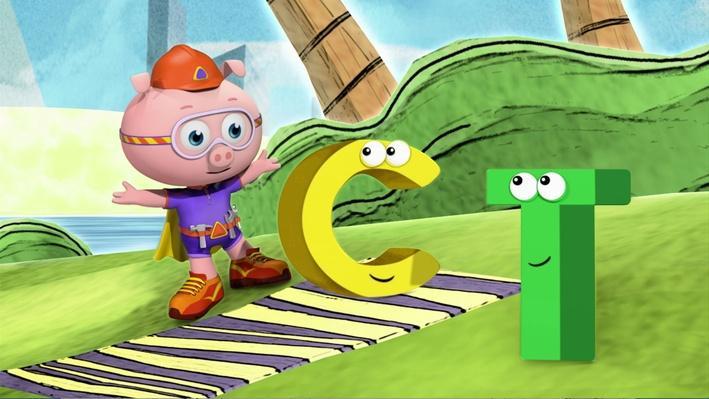 Super Why!: The Alphabet's Sad Day