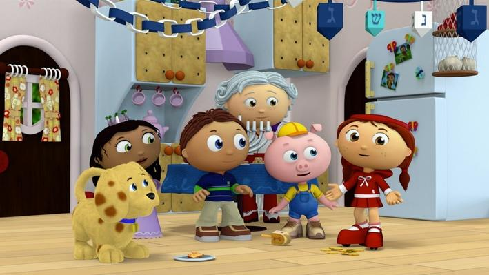 Super Why!: Judith's Happy Chanukah